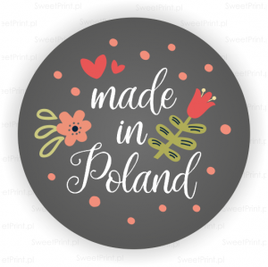 Naklejki FOLK - made in Poland