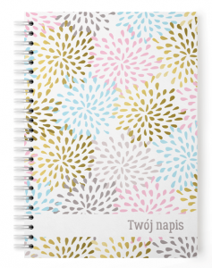 Personalizowany  notes ABSTRACT NEW