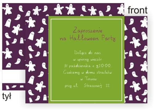 Personalizowane Zaproszenia Na Halloween